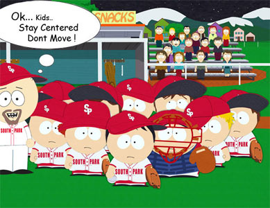 Chris Mal's South Park little league team