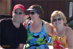 Carl Weston, Barb (Yerger) Weston and Karen (Orth) Rimby