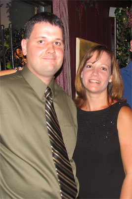 Todd and Jen (Reimert) Weikel at the 20-Year Reunion, 2006