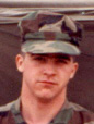 Bob Painter in the Marines in 1988