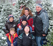The Pettit Family, Christmas 2005