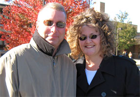Kevin and Cathy, October 2008