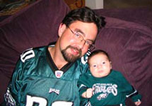 Another Eagles fan is born!