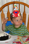 Ryan Quirk's first birthday, 7/27/05