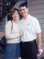 Dr. Christine Jurasinski-Sanchez and her hubby, Dr. Carlos Sanchez