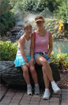 Nicole and Karen, Disney 2005