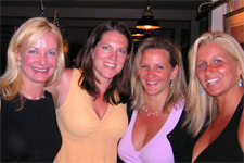 Kelly, Suzanna, Becky and Steph