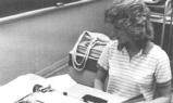 Lisa Westervelt in Typing Class, 1984
