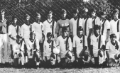 MPHS 1985 Varsity Soccer Team starring goalie Lee Pace