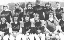 1984 JV Softball team starring Softball goddesses and sisters, Sally and Kathy Ford!