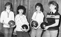 1986 MPHS Girls JV Bowling Team starring Kelly Carter!