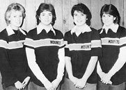 1986 MPHS Girls Varsity bowling team starring...MINDY SNYDER (who missed picture day)