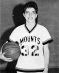 The Mounts scored more than Diane's jersey number only 5 out of 21 games.
