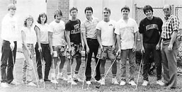 1986 Golf Team featuring Christine Jurasinski