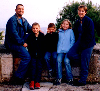 The Corliss Family in Italy, November 2004