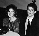 Wendy Crow at the 1985 Y-Teen Valentine's Dance