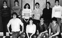 1985 Golf Team featuring Steve Kunkel