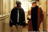 "Rob Brown and Sean Connery in ""Finding Forrester"""