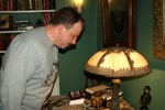 Yearly ritual of Mike staring at lamps.