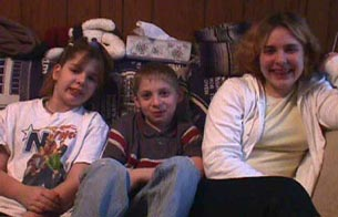 Daphne, Jayme and KayAnne Hinnershitz, Picture taken in 2000